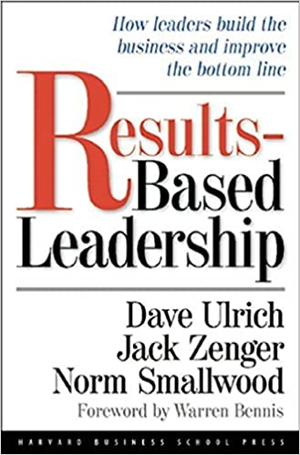 Results Based Leadership Book