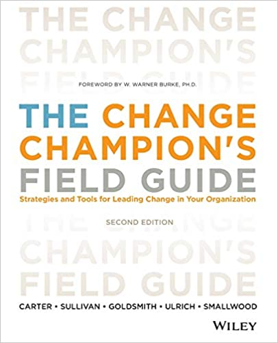 The Change Champion's Field Guide Book