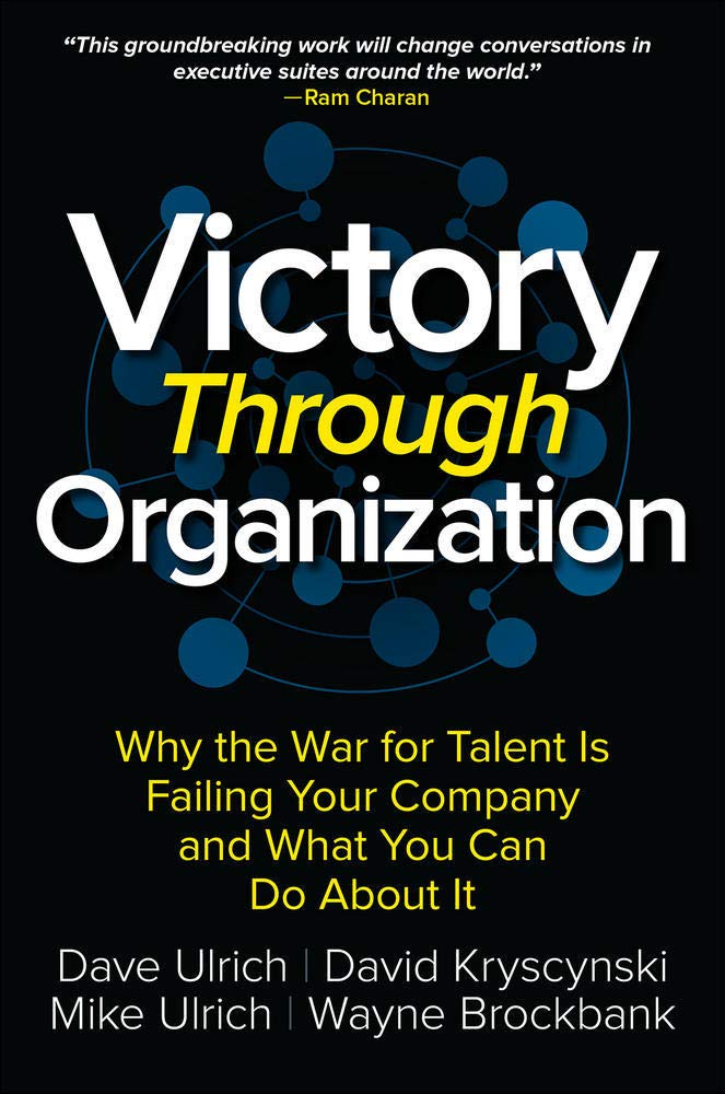 Victory Through Organization Book