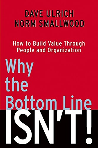 Why the Bottom Line Isn't Book